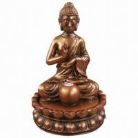 Buy cheap Polyresin Buddha Water Fountain, CE Certified from wholesalers
