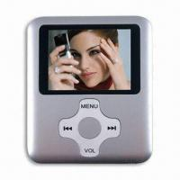 Buy cheap Good MP4/MP3 Player, 1.8-inch TFT LCD Screen, FM Radio, Model Design from wholesalers