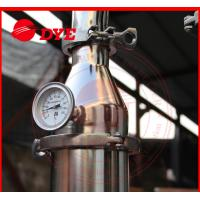 Buy cheap DYE 70Kg Miniature Alcohol Home Distilling Machine 3mm Thickness from wholesalers