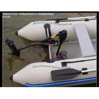 Inflatable boat with trolling motor popular inflatable for Electric trolling motor battery size