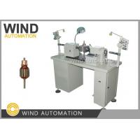 Buy cheap Semi Auto Coil Winding Machine Flyer Winder For Hook Commutator Armature Rotor Coil Winding from wholesalers