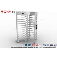 Buy cheap High Security Full High Turnstile Stainless Steel Access Control For Prisons Turnstile product