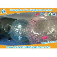 Buy cheap Customized Transparent Inflatable Zorb Ball Hamster Ball With Digital Printing from wholesalers