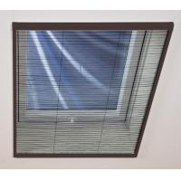 Buy cheap Aluminium Casement Plisse Net Shades / Window Blind Flyscreen Window from wholesalers