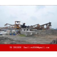 High Automation Aggregate Processing Plant Wet Sand Making Simple Structure