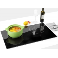 Buy cheap Power Boost Simple Conbtrols Touch Dual Burner Induction Cookers from wholesalers