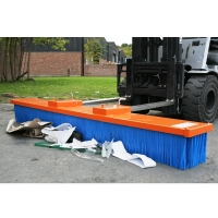 Buy cheap Practical Multiple Colour Nylon Forklift Sweeper Brush Attachment from wholesalers