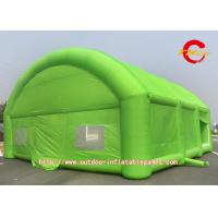 Buy cheap Green Durable Inflatable Dome , Inflatable Air Tent Family Gatherings from wholesalers
