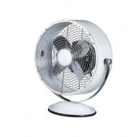 9 Inch 3 Speed Retro Style Electric Fans CE White For South Africa