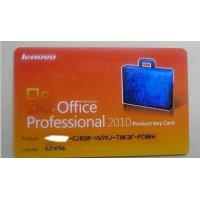 Buy cheap Microsoft Office 2010 Product Key Card For Office Professinal 2010 from wholesalers