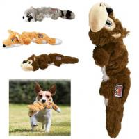 Buy cheap Squirrel Knots Plush Pet Toys , Indestructible Stuffed Squeaky Dog Toys from wholesalers