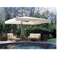 Buy cheap Roma Offset Patio Umbrella With Flip - Flap Function Outdoor Sun Shades For Patios from wholesalers