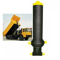 Buy cheap Custom Single Acting Hydraulic Cylinder Stage Telescopic Lifting Dumper Tipper from wholesalers
