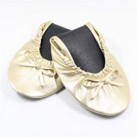Buy cheap Quality Gold Ballet Flats with Euro Size, Buckle Flat Shoes for Ballet Flats Women from wholesalers