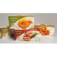 Buy cheap Frozen Food Shipping Boxes For Pizza / Chocolate Packaging Embossing Printing from wholesalers