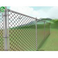 Buy cheap Malaysia galvanized 11 gauge chain link fence roll 6 foot for farm from wholesalers