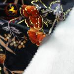 Buy cheap wholesale burnout 100% silk velvet fabric from wholesalers