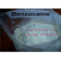 Buy cheap Medicine Grade CAS 94-09-7 Benzocaine Powder White Or Colorless Crystal from wholesalers