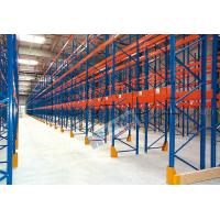 Blue Orange Industrial Galvanised Pallet Racking Shelves Material Handling Racks
