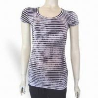 Buy cheap Women's T-shirt, Trendy and Comfortable to Wear, Various Sizes and Colors are Available from wholesalers