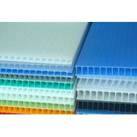 Buy cheap Waterproof Correx Plastic Sheets 1.6 mm - 12 mm  Recyclable PP Hollow Board from wholesalers