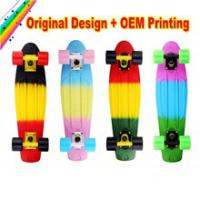 OEM logo printed colorful skateboard for New Year