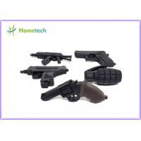 Buy cheap Black Color Gun Customized Usb Flash Drive 4gb 8gb 1gb 2gb 128mb 512mb product