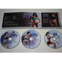 Buy cheap Spanish Audio Fitness Workout DVD , Weight Loss Keep Fit Dvd OEM ODM from wholesalers