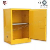 Buy cheap Fire Resistant Yellow Safety Mobile Storage Cabinet , Flame Proof Cabinets 20 Gallon from wholesalers