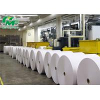 China Pure White BPA Free Thermal Paper Rolls Cash Register Paper Jumbo Rolls SGS Approval on sale