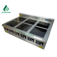 Buy cheap double range, multi-hob cooker, 3.5KW~30KW commercial induction cooker, griddle, kinds of food steamer, from wholesalers