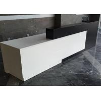 Buy cheap Contracted Style Fashion Retail Store Checkout Counters Black And White Color from wholesalers