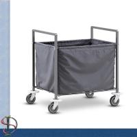 Buy cheap Folding Laundry Cart / Hotel Chrome Laundry Rack / Heavy-duty Laundry Stand with Laundry bag from wholesalers