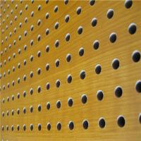 Buy cheap Mdf Acoustic Board Wooden Timber Perforated Sound Absorbing Panels product
