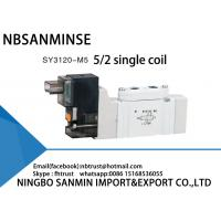Buy cheap SY3000 SMC Type AC220V DC24V Pneumatic Solenoid Valve from wholesalers
