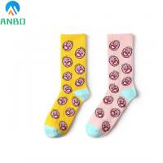 Buy cheap custom men's cotton crew athletic sport socks skateboard socks from wholesalers