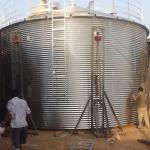 Grain Bin Storage Steel Silo Forming Machine / Steel Silo Storage Forming