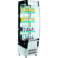 Buy cheap Front open square glass dessert display refrigerator showcase chiller for sale from wholesalers