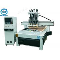 Buy cheap Automatic Tool Changer Computer Controlled Wood Router Machine With 4 Heads from wholesalers