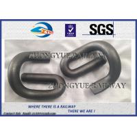 Buy cheap E Shape 60Si2MnA 60Si2MnA Elastic Rail Clips With Oxide Black from wholesalers