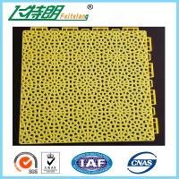 Buy cheap Outdoor Indoor PP Suspended Interlocking Rubber Floor Tiles Modular Hockey Flooring from wholesalers
