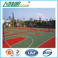 Buy cheap Synthetic Badminton Court Flooring Playground Rubber Mats Anti Skid Coating from wholesalers