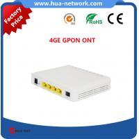 Buy cheap 4GE GPON ONT/4GE GPON ONU/4GE ONU GPON/4GE ONT GPON/Good compatibility GPON ONT product