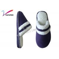 Buy cheap Fashion Non Slip Winter Home Slippers Embroidery logo with all color from wholesalers