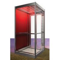 Buy cheap European Standard Observation Elevator / Residential Lift Home Lift with Painted Steel Laminated Safety Glass Car Wall from wholesalers