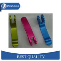 Buy cheap CNC Parts Aluminium Machined Components Black / Colorful Hard Anodized Finish from wholesalers