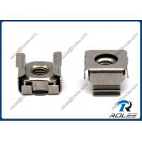Buy cheap Stainless Steel Snap-in Rack Mounting Cage Nuts for Rack Server from wholesalers