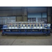 Buy cheap 12 Head 9 Needle Sequin Embroidery Machine For Caps / Long Dress from wholesalers