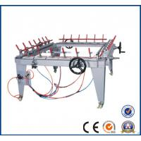 Buy cheap Pneumatic mesh stretching machine for silk screen frame / Tighten net yarn screen printing machine for all  factory23 from wholesalers