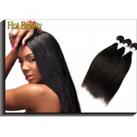 Buy cheap Double Machine Weft Virgin Peruvian Straight Hair 24 Inch Hair Extensions from wholesalers
